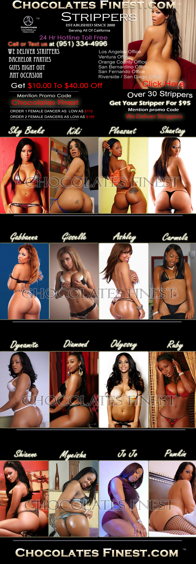 Exotic Ebony Dancers 20